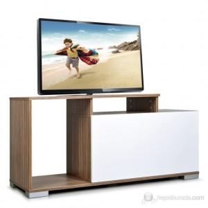 Kenyap 803605 Nesta Tv Sehpası - Ceviz &Beyaz