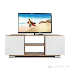 Kenyap 805609 Pera Tv Sehpası-Anadolu Ceviz&Beyaz